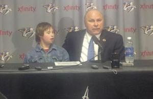 Trotz with son