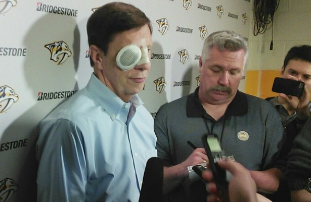Poile injury presser