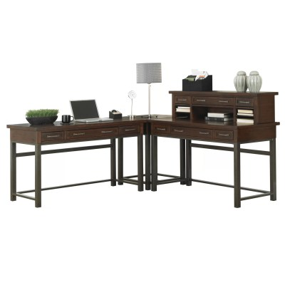 Home Styles Cabin Creek Computer Desk with 1 Right & 1 ...