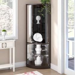 Small Of Corner Curio Cabinet