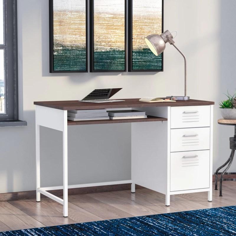 Large Of Metal Computer Desk