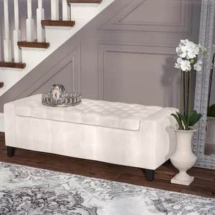 Ilchester Upholstered Storage Bench Sofa Bench With Storage H23
