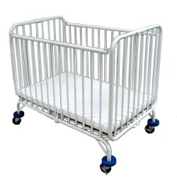 L a Baby Baby Holiday Portable Crib With Mattress Reviews Wayfair