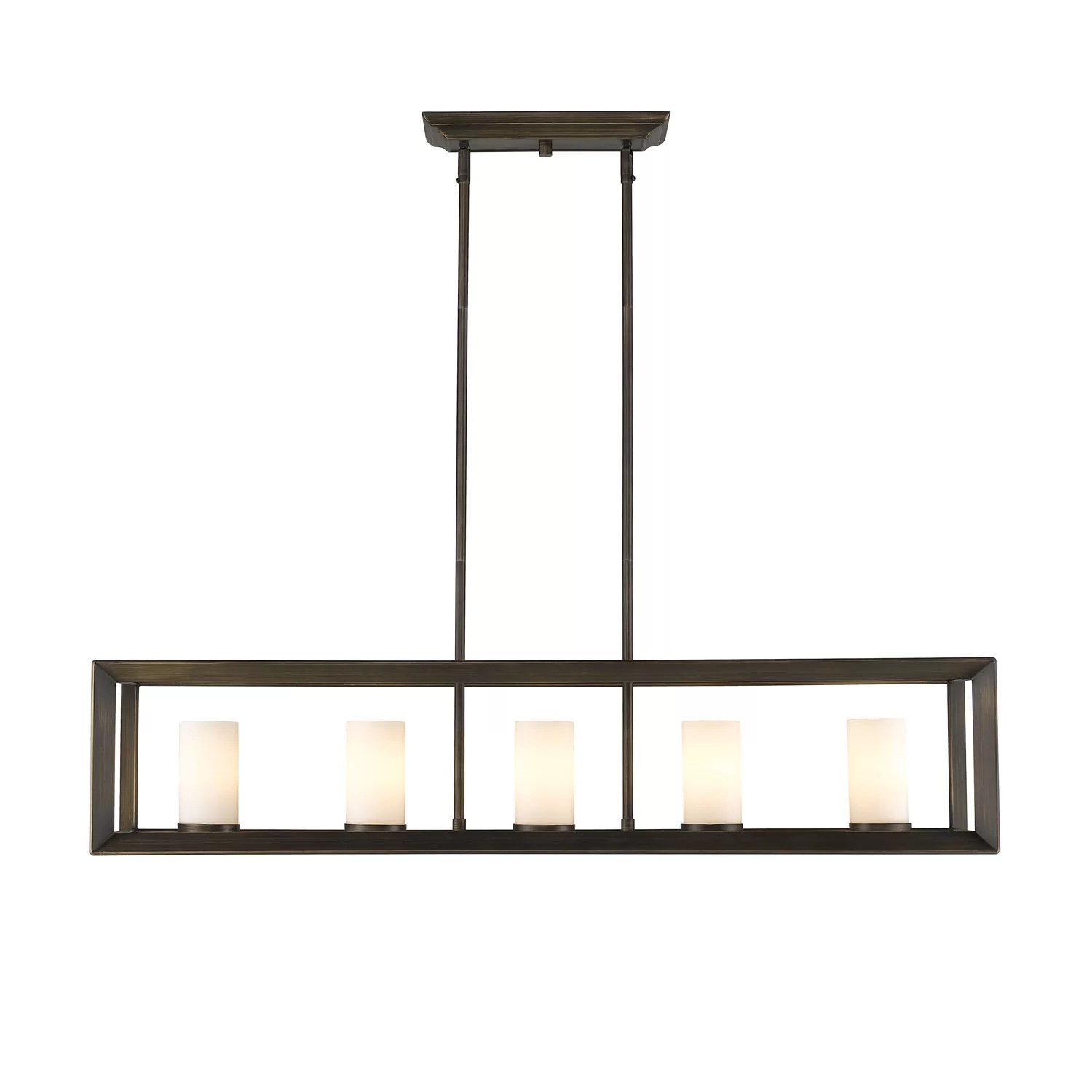 island lights c kitchen chandelier lighting Ginsberg 5 Light Kitchen Island Pendant