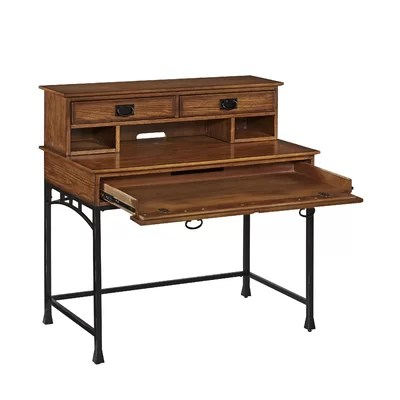 Home Styles Modern Craftsman Computer Desk with Hutch and ...