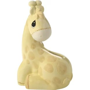 My Precious One Ceramic Giraffe Piggy Bank
