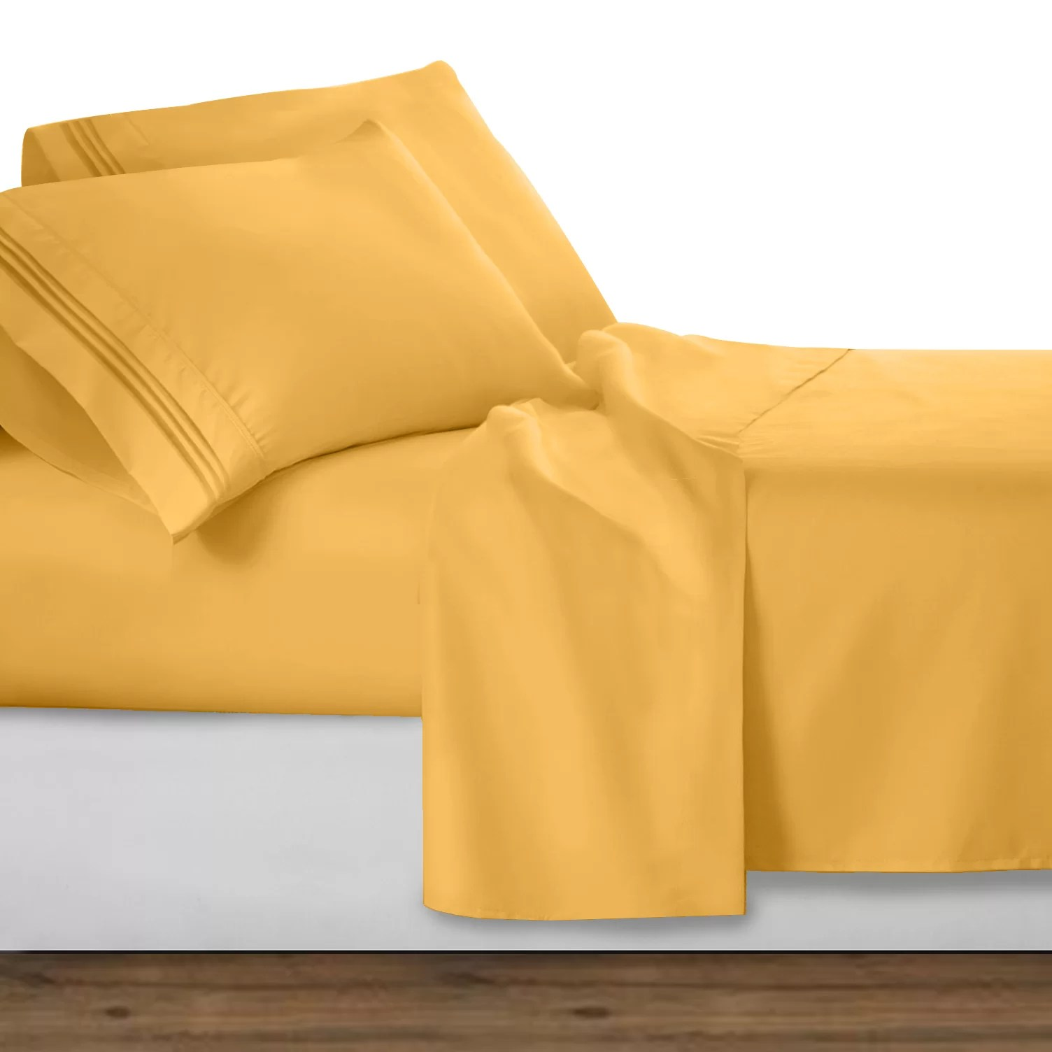 Classy Cons Charlton Home Clara Clark Microfiber Sheet Set Reviews Wayfair What Are Microfiber Sheets Made Out Cons Pros Polyester Microfiber Sheets New House Designs Brushed Microfiber Sheets Pros houzz-03 Microfiber Sheets Pros And Cons