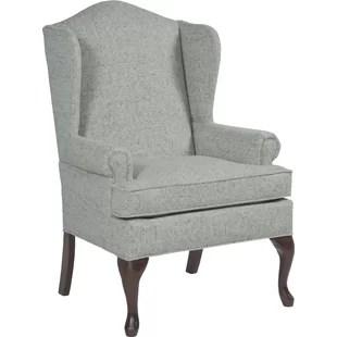 Queene Anne Wingback Chair Queen Anne Armchair Wayfair83