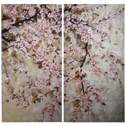 Small Crop Of Cherry Blossom Painting