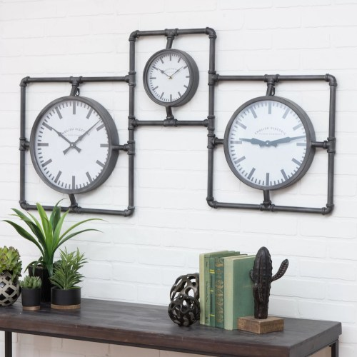 Medium Crop Of Wall Clock Industrial