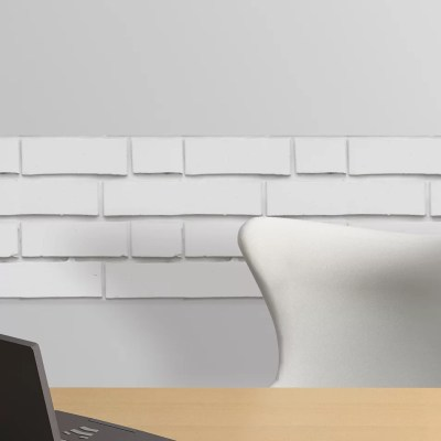 WallPops! White Bricks Peel and Stick Foam Tiles Wall Decal & Reviews | Wayfair.ca