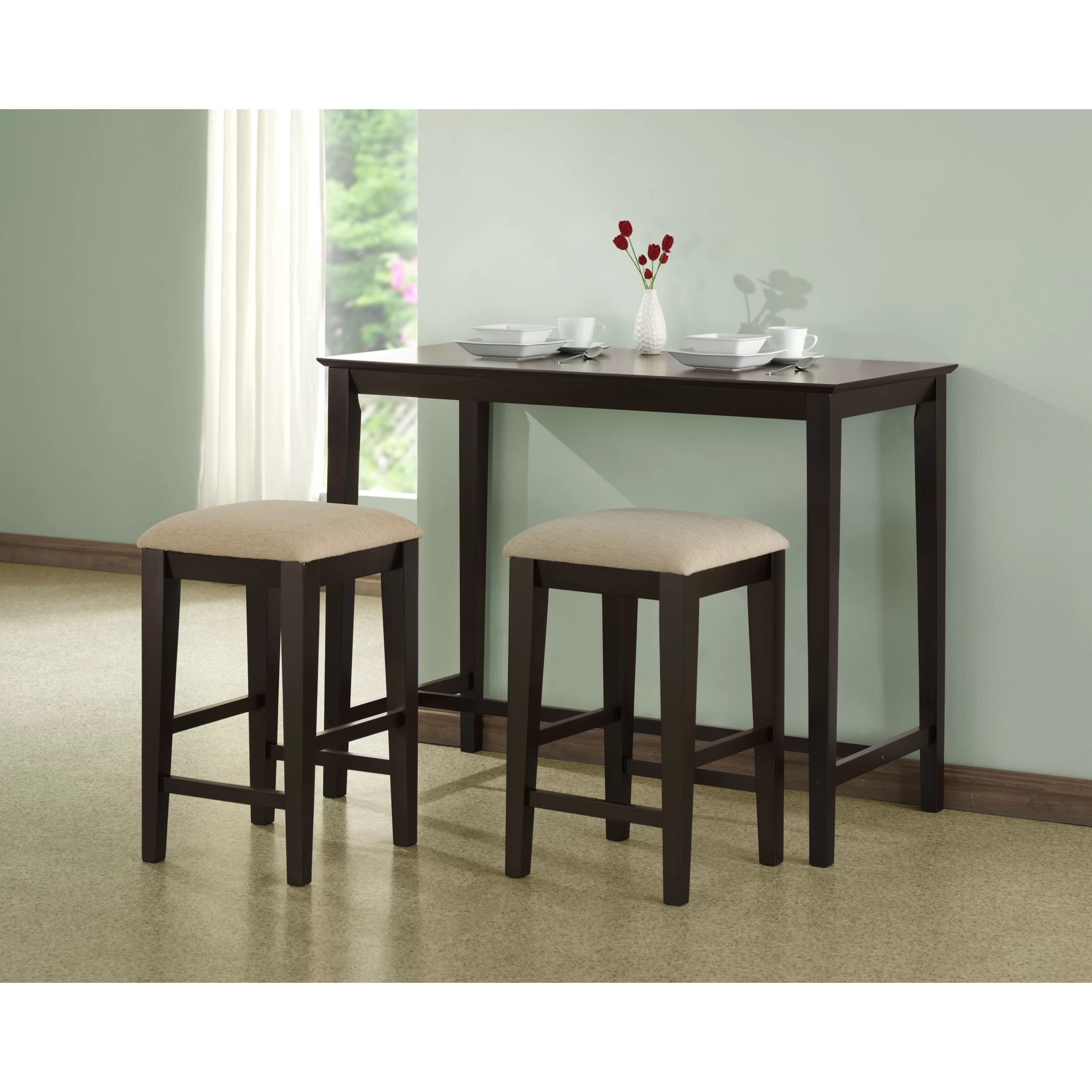 Monarch Specialties Inc Counter Height Kitchen Table MNQ counter height kitchen tables Monarch Specialties Inc Counter Height Kitchen Table