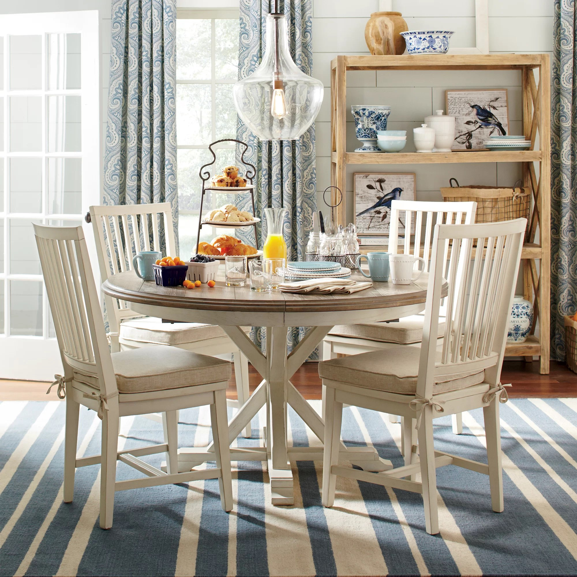 kitchen dining tables c round kitchen table Teresa Extending Round Dining Table