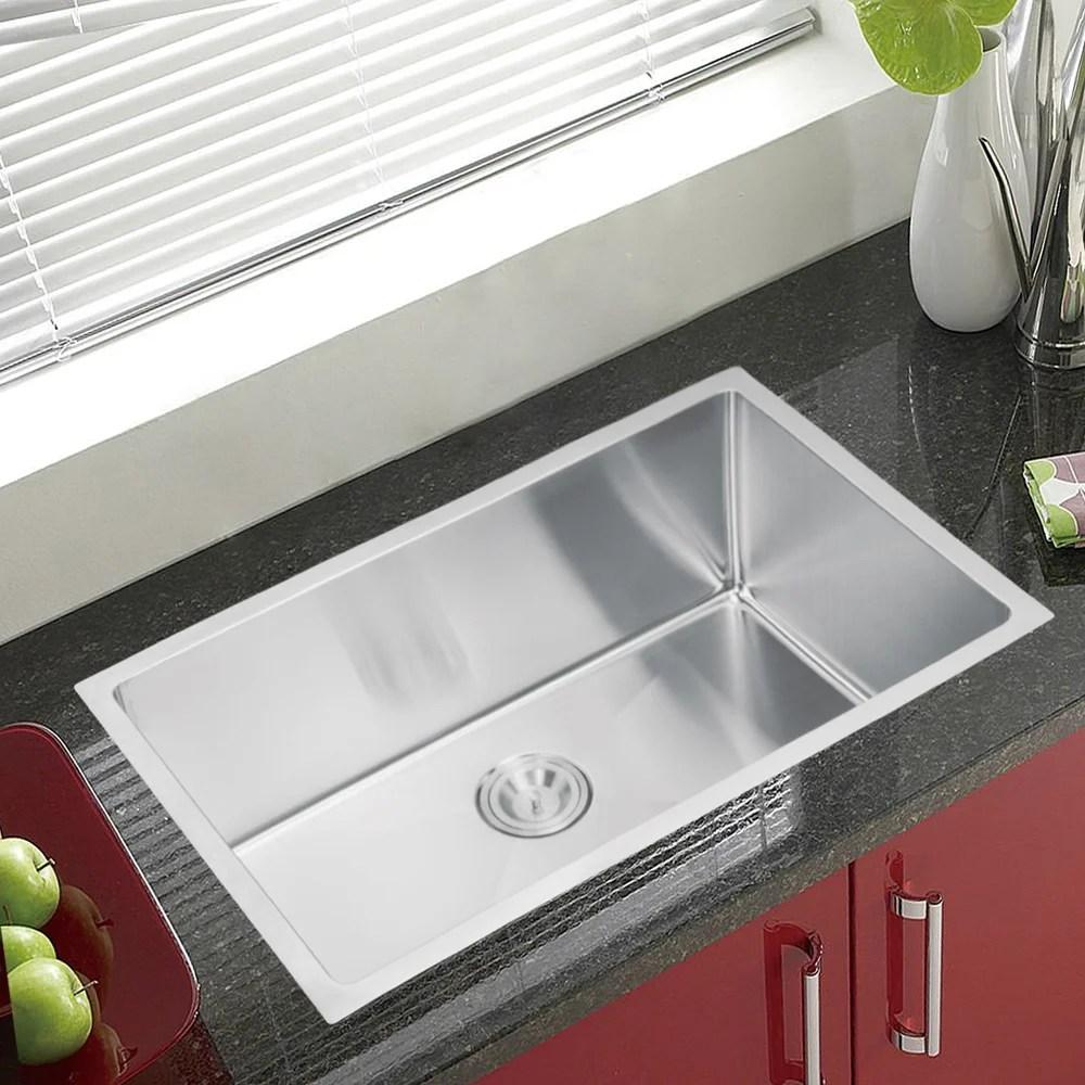 kraus 36 inch farmhouse single bowl stainless steel kitchen sink