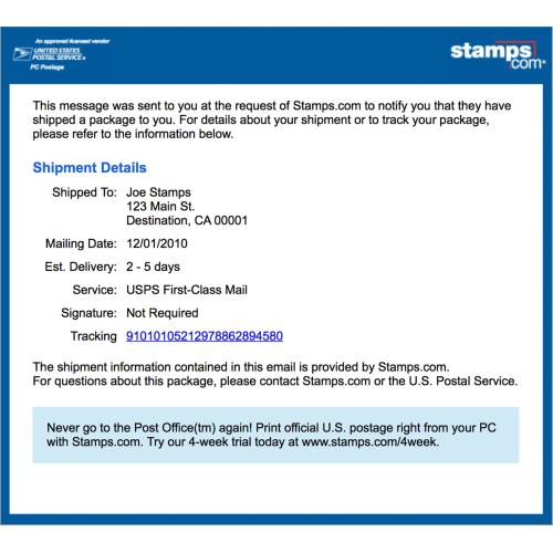 Medium Crop Of Pre Shipment Info Sent To Usps