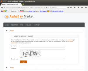 Alphabay fake website