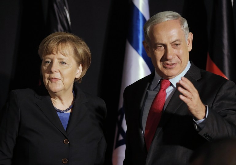 Merkel Netanyahu German Intelligence BND