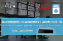 Promise Vess NVRs certified by Milestone