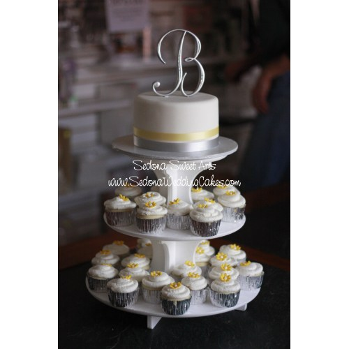 Medium Crop Of Cupcake Wedding Cake