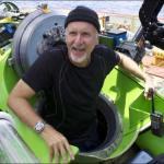 James Cameron sets submarine diving world record