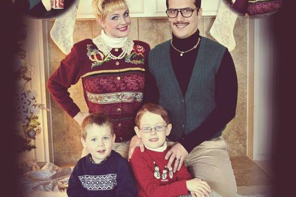 Awkward Family Christmas Card