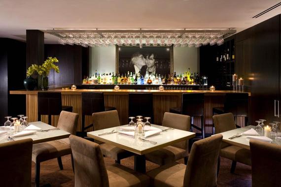 Hotel Fauchere restaurant design