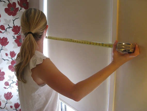 measuring for a window valance