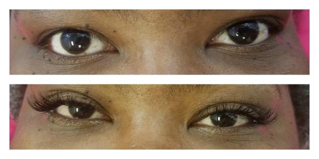 Eyelash extension tips