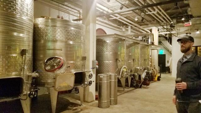 City Winery Atlanta Fermentation Tanks