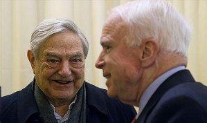 """McCain joins Soros pushing """"refugee"""" invasion"""