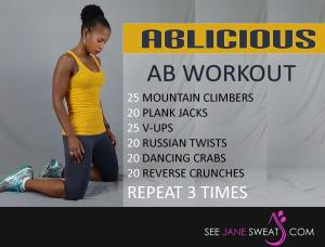 ABlicious Ab Workout