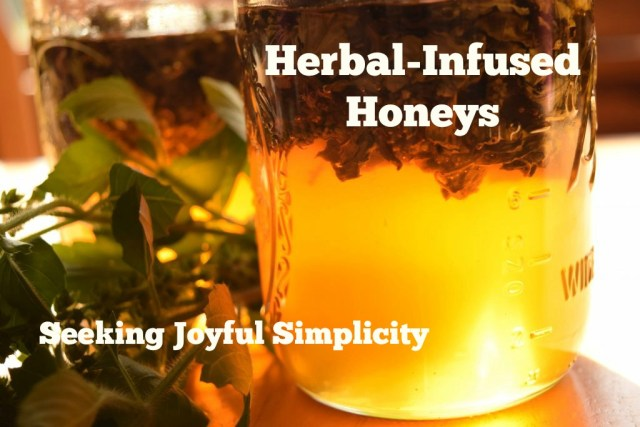 Herbal infused honeys are delicious, simple to make, and make beautiful creative gifts. Infused with medicinal herbs, they can be soothing, cough-relieving and are a safe and effective medicine for children.