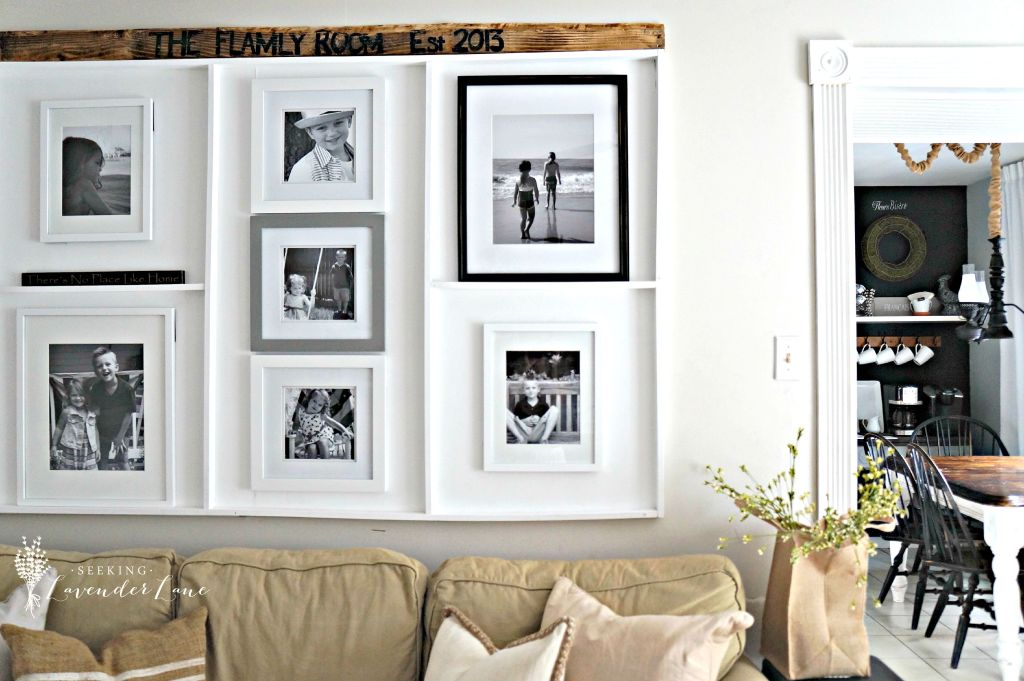 Picture Frame Built in
