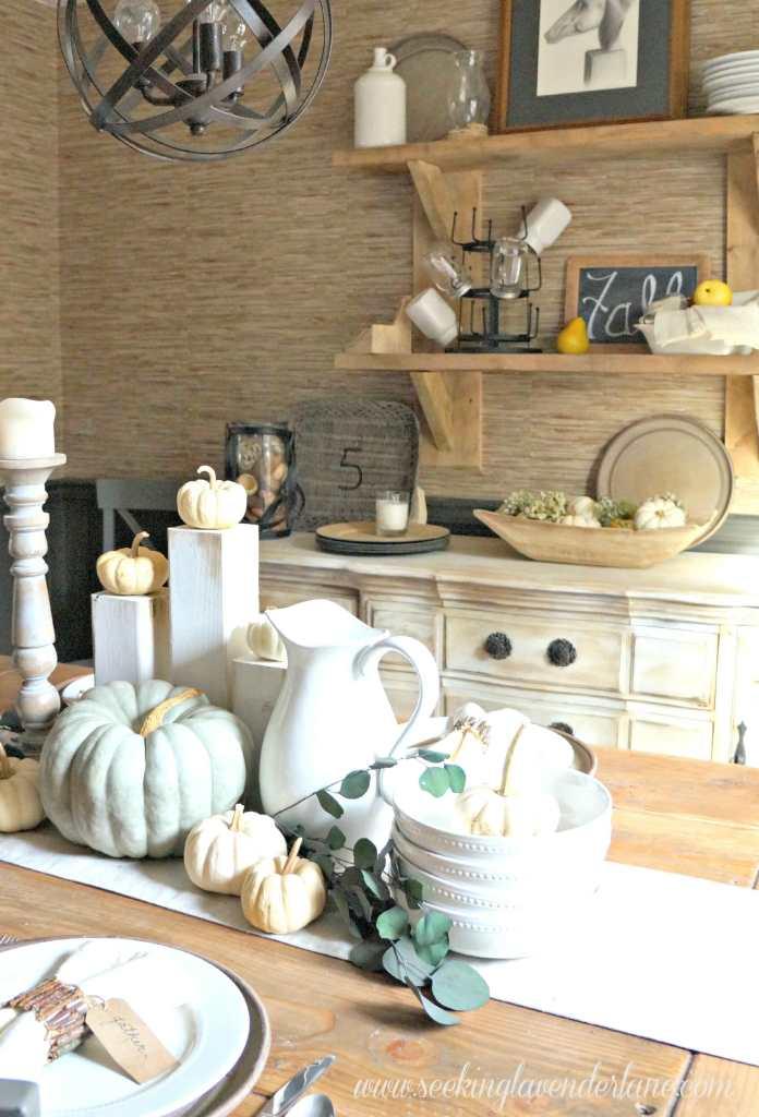 Thanksgiving Rustic Dining Room