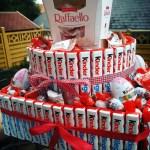DIY Geschenkidee: Kinderriegel-Torte