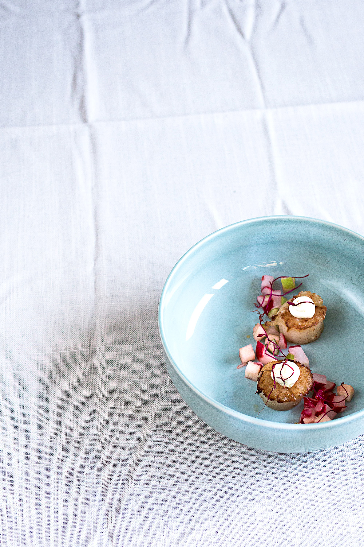 Jakobsmuscheln-Schokoladen-Wasabi-Butter-13
