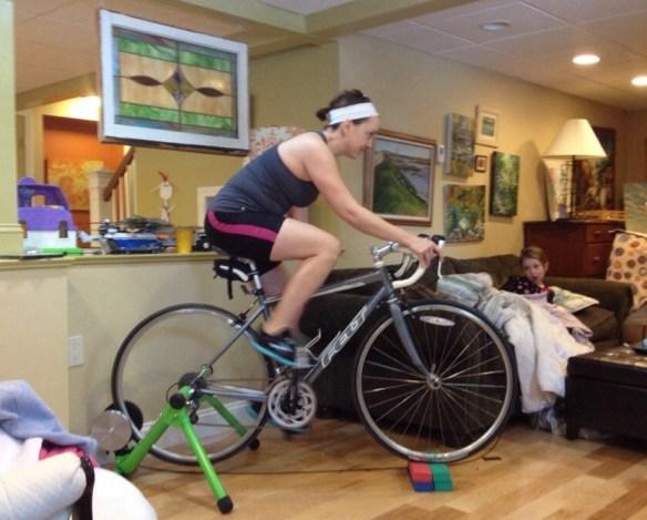 bike trainer triathlon injured off-season