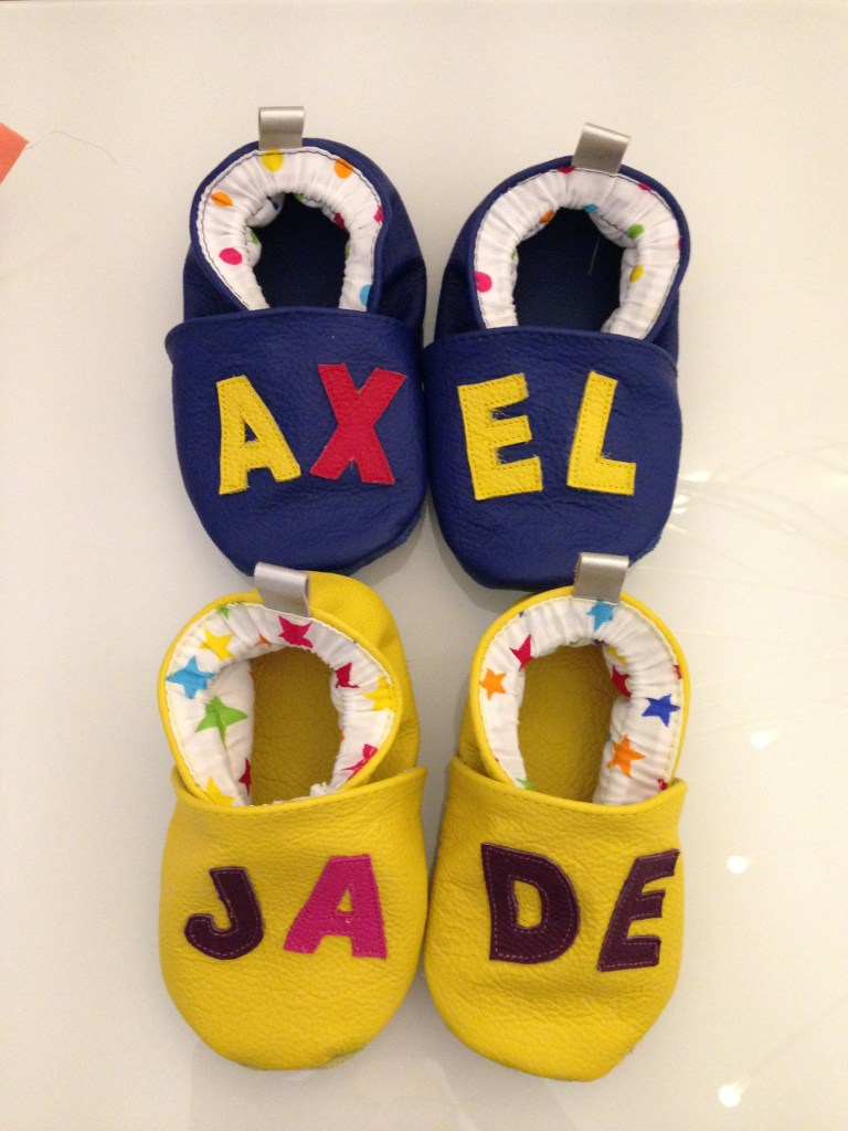chaussons Axel et Jade
