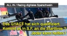 ALL IN / Racing digitales Sparschwein auf SR