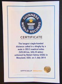 Guinnes World Recor, Suhay, Laser, Langstrecke