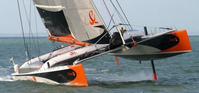 """""""Orange II"""" im Speed-Modus. © Martin-Raget"""