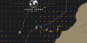 Die zwei Stunden nach IDEC gestartete Spindrift liegt 100 Meilen vor dem Rekord.