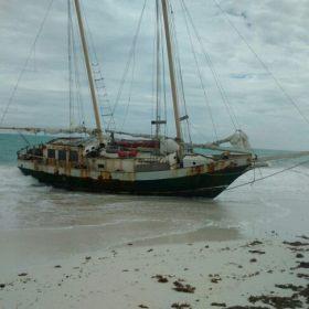 Schiffbruch, Strandung, Familie
