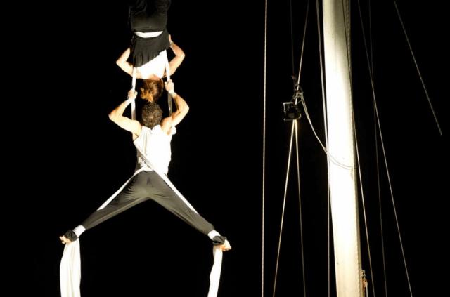 Weltumseglung, Artisten, Akrobatik,