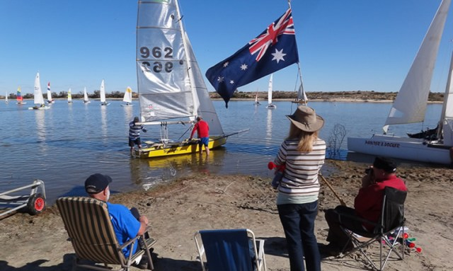Lake Eyre, Salzsee, Regatta