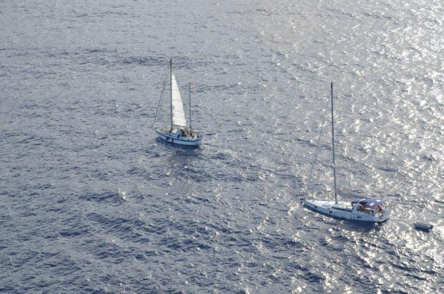 Yacht gesunken