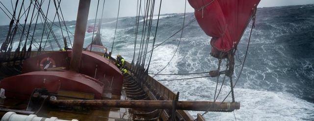 Draken Harald, Wikingerschiff