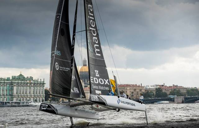 Extreme Sailing Series, St Petersburg
