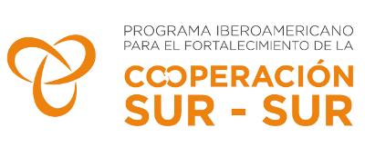 logotipo Programa Iberoamericano para el fortalecimiento de la Cooperación Sur-Sur