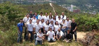 Empleados de BBVA Provincial realizan siembra de árboles en Caracas
